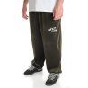 Velour Pants Moss Green