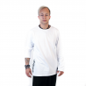 "Shirts ""Long Sleeve Pure White Side Logo"""