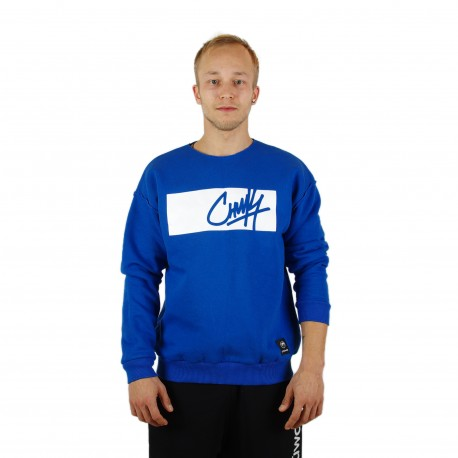 "Džemperis ""Crewneck in Deep Blue"