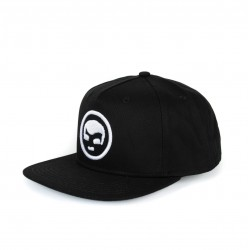 Cap SnapBack Black Face
