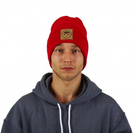 Beanie in Red