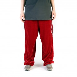 "Kelnės ""Velour Pants Chilli Red"""