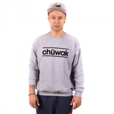 "Džemperis ""Crew Neck Grey"""