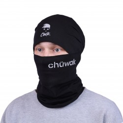 Chuwak Mask/NeckWarmer Black Name