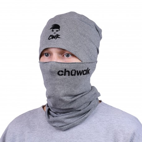 Chuwak Mask/NeckWarmer Grey Name