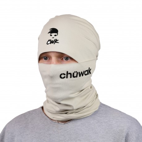 Chuwak Mask/NeckWarmer Sand Brown Name