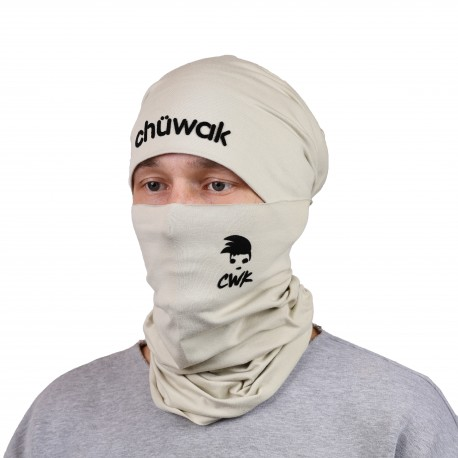 Chuwak Mask/NeckWarmer Sand Brown Punk