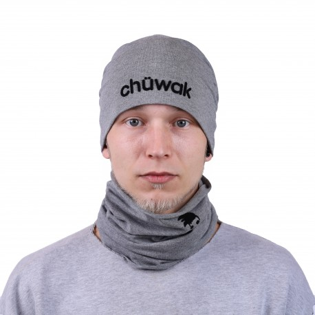 Plona kepurė Beanie Grey Name